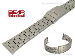 titanium bracelet watches images Titanium watch band 22mm matt sporty design from bear jpg