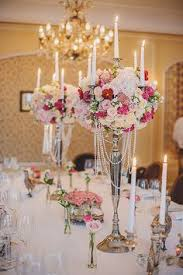 candelabra centerpiece white lavender vintage glam candelabra centerpieces great