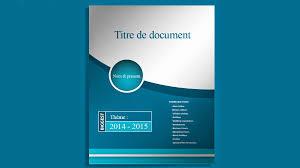 telecharger page de garde doc pour un rapport de stage  StagePFE