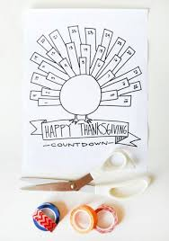 countdown to thanksgiving printables happy thanksgiving