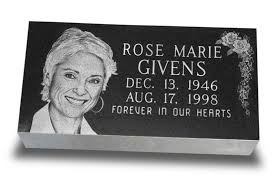 tombstone engraving single laser engraved markers