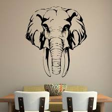 online buy wholesale african wall decal from china african wall removable safari jungle elephant wall decal african animals wall decal bedroom home decor gw 14