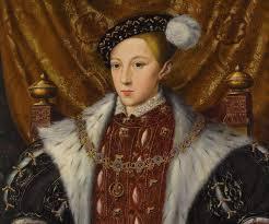 tudor king coronation of a boy king