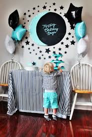 Green Flag With Star And Moon Moon U0026 Star Themed Birthday Party Little B Turns 2