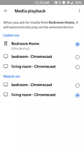 google home app now lets you select default cast devices