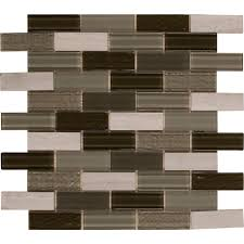 tivoli 12 in x 12 in x 6 mm glass stone mesh mounted wall tile