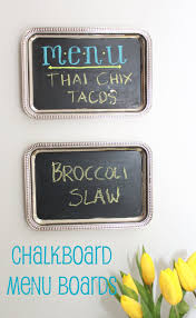 apartment decorating ideas kitchen diy projects chalkboard
