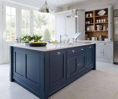 painted blue kitchen cabinets more of the denim kitchen kitchens pinterest kitchens house