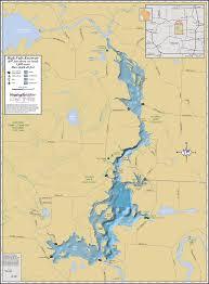 Wall Map High Falls Reservoir Wall Map