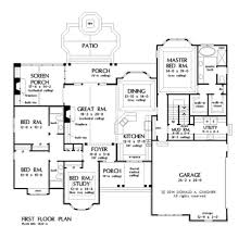 craftsman style house plan 4 beds 3 00 baths 2485 sq ft plan 929 25
