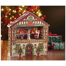 mr christmas mr christmas animated advent house calendar box 420797