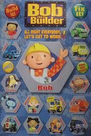 bob builder characters poster 60x90cm scoop muck dizzy