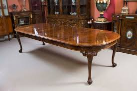 queen anne dining room sets antique burr walnut queen anne styl dining table c1920
