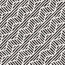 vector seamless pattern zigzag and stripe lines