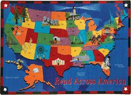 read across america classroom rug