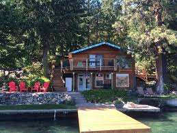 Vacation Rentals Lake Chelan Vacation Rentals by Low Bank Waterfront Cabin On Lake Chelan 3 Br Vacation Cabin For