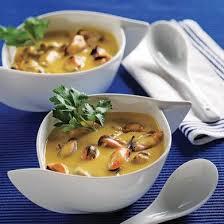 cuisine au safran chaudrée de moules et de palourdes au safran recettes cuisine et