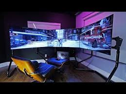 Awesome 2013 Pc Gaming Setup 5760 X 1080 3 Monitors W by The 25 Best Ultimate Gaming Setup Ideas On Pinterest Computer