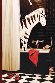 Zebra Themed Bathroom White Bathroom Accessories Part 6 Black And White Zebra Print