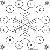 spelling worksheets snow k 3 theme page at enchantedlearning com