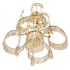 Neoclassical Chandeliers A Russian 19th Century Neo Classical St Crystal And Ormolu Chandelier
