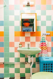turquoise bathroom why people get rid of the original colored tiles and sinks i don u0027t