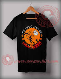 the queen of halloween t shirt halloween shirts for adults