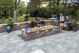 Modern Fire Pits by Design Options For Sleek Modern Fire Pits In Lansing Ann Arbor