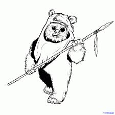 star wars coloring books star wars coloring page ewoks for ewok coloring pages eson me