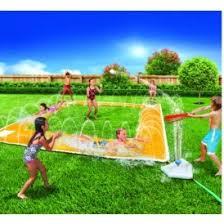 Backyard Slip N Slide Home Run Splash Baseball Slip N Slide 25 Kmart