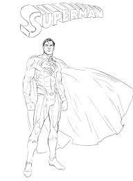 superman sketch hoelho deviantart