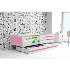 Lit Evolutif Blanc Pas Cher by Lit Enfant Rino 190x90 Blanc Rose Couleur Des Panneaux Mdf Avec