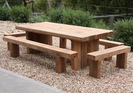 Handmade Designer Furniture And Solid Timber Outdoor Tables - Designer outdoor table