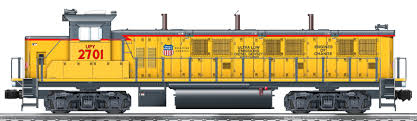 Union Pacific Legacy 3gs21b Genset Switcher 2701