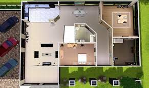 modern house floor plan awesome modern sims 3 house plans 18 pictures architecture plans