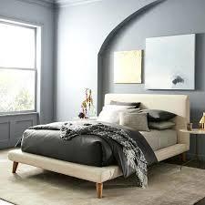 home interior furniture elm mod upholstered platform bed home interior decoration