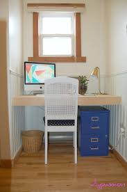 Diy Built In Desk by Built In Desk Built In Desk For The Craftroom Built In Desk For