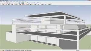 Tutorial Sketchup Modeling | google sketchup 8 tutorial modern house modeling hd kerkythea
