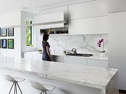 kitchen island with barstools photo 8 of 8 in 7 stress free ways to keep your white kitchen