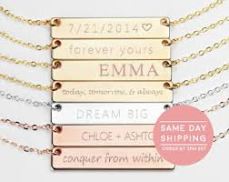 Best Name Necklace Custom Name Necklace Etsy