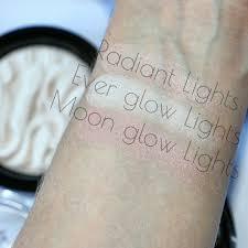 makeup revolution radiant lights revolution makeup on twitter swatched strobe highlighters in