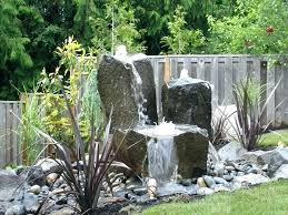 Rock Garden With Water Feature Garden Water Feature Ideas Rock Garden Designs With Water Feature