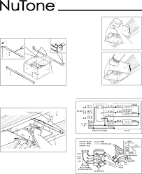 bathroom exhaust fan installation instructions nutone bathroom fan light installation instructions creative