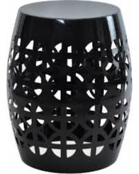 Ceramic Side Table Don U0027t Miss This Deal Artisan Black Garden Stool Side Table