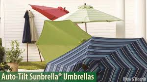 Coolaroo Umbrella Review by Auto Tilt Sunbrella Umbrella With Crank Arm Sku 39408 Plow