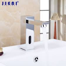 Touch Free Kitchen Faucet Touch Free Infrared Basin Tap Automatic Sensor Faucet Bathroom