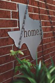 texas home wall sign or any state kaktos rose waco tx