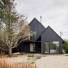 architectural house houses with black exteriors dezeen