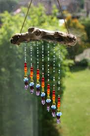 Wind Chimes Diy by Clay Crystal Gemstone And Leather Dream Catcher That I Made
