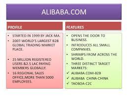 alibaba target market alibaba the biggest merchant
